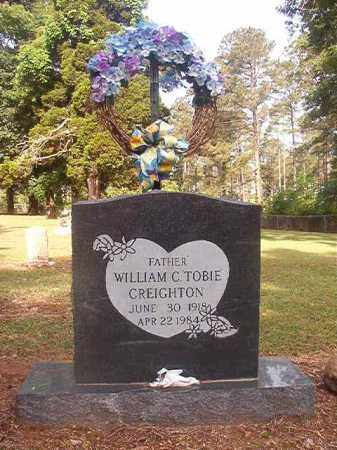 "CREIGHTON, WILLIAM C ""TOBIE"" - Lincoln County, Arkansas 