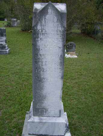 CUNNINGHAM, J. MART - Lincoln County, Arkansas | J. MART CUNNINGHAM - Arkansas Gravestone Photos