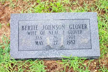 GLOVER, BERTIE - Lincoln County, Arkansas | BERTIE GLOVER - Arkansas Gravestone Photos