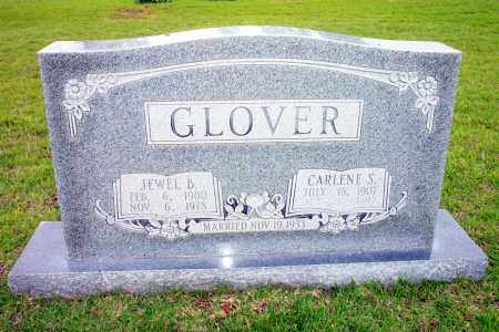 GLOVER, CARLENE - Lincoln County, Arkansas | CARLENE GLOVER - Arkansas Gravestone Photos