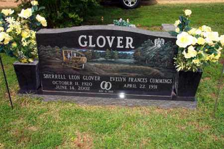 CUMMINGS GLOVER, EVELYN - Lincoln County, Arkansas | EVELYN CUMMINGS GLOVER - Arkansas Gravestone Photos