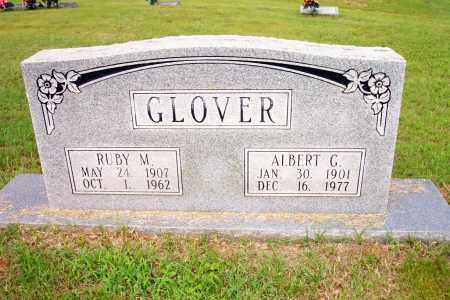 GLOVER, ALBERT GRADY - Lincoln County, Arkansas | ALBERT GRADY GLOVER - Arkansas Gravestone Photos