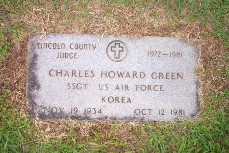 HOWARD GREEN, CHARLES - Lincoln County, Arkansas | CHARLES HOWARD GREEN - Arkansas Gravestone Photos