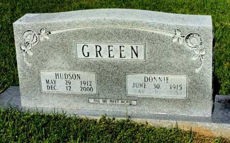 "BURR GREEN, SHIRLEY JEAN ""DONNIE"" - Lincoln County, Arkansas 