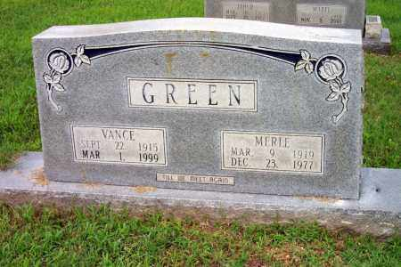 GREEN, VANCE - Lincoln County, Arkansas | VANCE GREEN - Arkansas Gravestone Photos