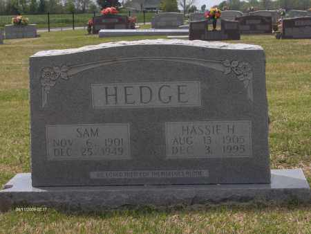 HEDGE, SAM - Lincoln County, Arkansas | SAM HEDGE - Arkansas Gravestone Photos