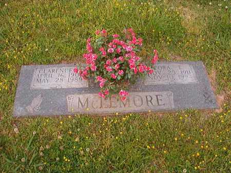 MCLEMORE, CLARENCE F - Lincoln County, Arkansas | CLARENCE F MCLEMORE - Arkansas Gravestone Photos
