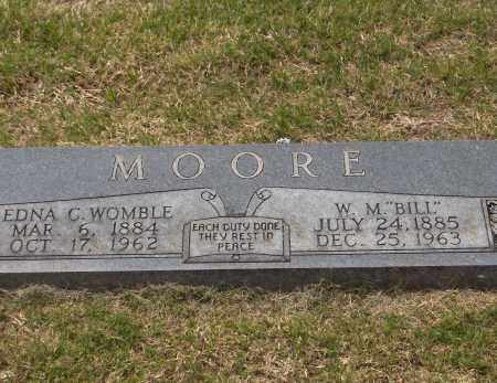 MOORE, WILLY M - Lincoln County, Arkansas | WILLY M MOORE - Arkansas Gravestone Photos