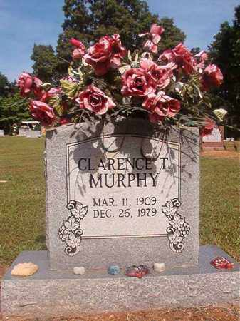 MURPHY, CLARENCE T - Lincoln County, Arkansas | CLARENCE T MURPHY - Arkansas Gravestone Photos