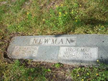 NEWMAN, JOSEPH FLOYD - Lincoln County, Arkansas | JOSEPH FLOYD NEWMAN - Arkansas Gravestone Photos