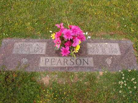 PEARSON, HENRY A - Lincoln County, Arkansas | HENRY A PEARSON - Arkansas Gravestone Photos