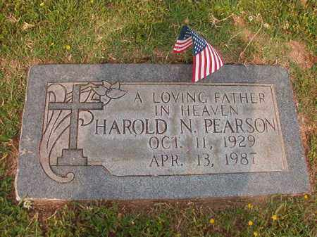 PEARSON, HAROLD N - Lincoln County, Arkansas | HAROLD N PEARSON - Arkansas Gravestone Photos