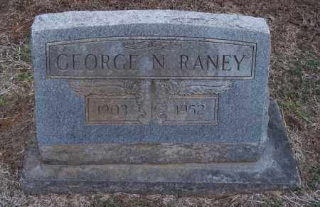RANEY, GEORGE N - Lincoln County, Arkansas | GEORGE N RANEY - Arkansas Gravestone Photos