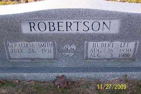 ROBERTSON, HUBERT LEE - Lincoln County, Arkansas | HUBERT LEE ROBERTSON - Arkansas Gravestone Photos