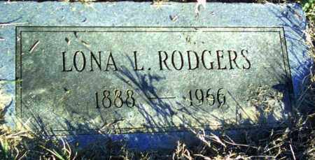RODGERS, LONA L - Lincoln County, Arkansas | LONA L RODGERS - Arkansas Gravestone Photos