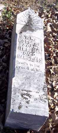 RODGERS, T W - Lincoln County, Arkansas | T W RODGERS - Arkansas Gravestone Photos