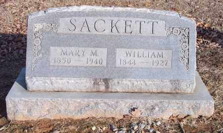 SACKETT, MARY M - Lincoln County, Arkansas | MARY M SACKETT - Arkansas Gravestone Photos