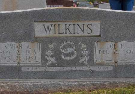 WILKINS, JOSEPH HANEY (JOE H) - Lincoln County, Arkansas | JOSEPH HANEY (JOE H) WILKINS - Arkansas Gravestone Photos