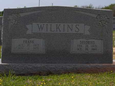 WILKINS, DELORIES - Lincoln County, Arkansas | DELORIES WILKINS - Arkansas Gravestone Photos