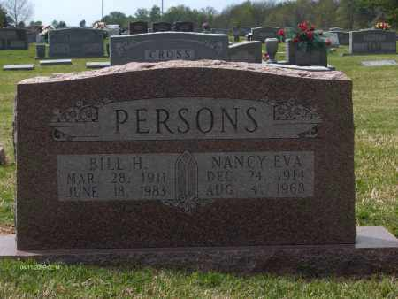 PERSONS, WILLY HARVEY (BILL) - Lincoln County, Arkansas | WILLY HARVEY (BILL) PERSONS - Arkansas Gravestone Photos