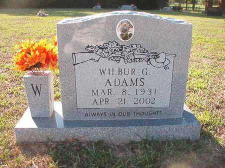 ADAMS, WILBUR G - Little River County, Arkansas | WILBUR G ADAMS - Arkansas Gravestone Photos