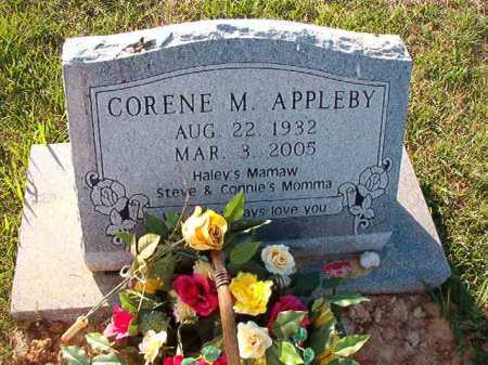 APPLEBY, CORENE M - Little River County, Arkansas | CORENE M APPLEBY - Arkansas Gravestone Photos