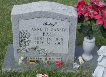 """BALL, ANNE ELIZABETH """"BETSY"""" - Little River County, Arkansas 