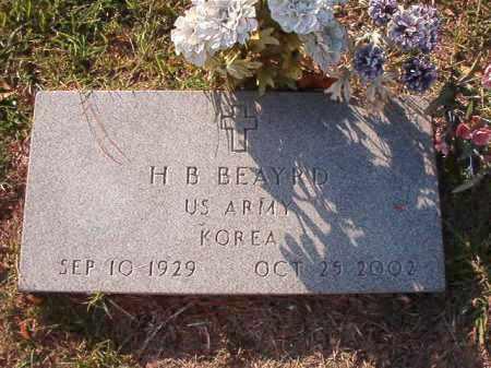 BEAYRD (VETERAN KOR), H B - Little River County, Arkansas | H B BEAYRD (VETERAN KOR) - Arkansas Gravestone Photos