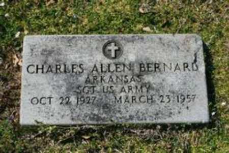 BERNARD  (VETERAN), CHARLES ALLEN - Little River County, Arkansas | CHARLES ALLEN BERNARD  (VETERAN) - Arkansas Gravestone Photos