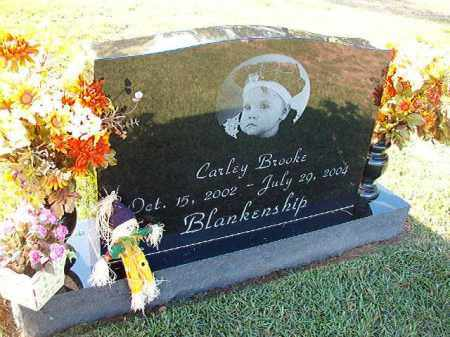 BLANKENSHIP, CARLEY BROOKE - Little River County, Arkansas | CARLEY BROOKE BLANKENSHIP - Arkansas Gravestone Photos