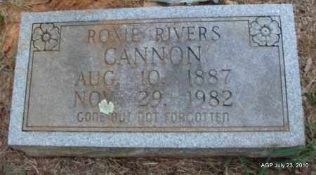 CANNON, ROXIE - Little River County, Arkansas | ROXIE CANNON - Arkansas Gravestone Photos