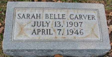 JOHNSON CARVER, SARAH ARABELLE - Little River County, Arkansas | SARAH ARABELLE JOHNSON CARVER - Arkansas Gravestone Photos