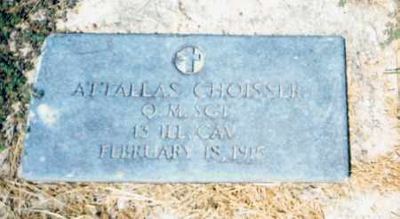 CHOISSER (VETERAN UNION), ATTALLAS - Little River County, Arkansas | ATTALLAS CHOISSER (VETERAN UNION) - Arkansas Gravestone Photos