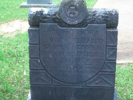 COOPER, NORA ELIZABETH - Little River County, Arkansas | NORA ELIZABETH COOPER - Arkansas Gravestone Photos