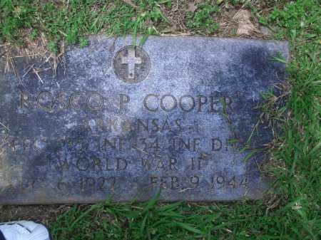 COOPER (VETERAN WWII), ROSCO P. - Little River County, Arkansas | ROSCO P. COOPER (VETERAN WWII) - Arkansas Gravestone Photos