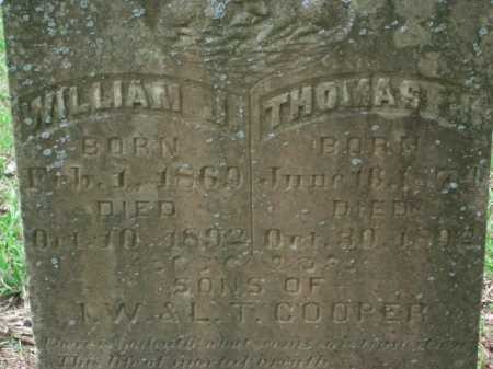 COOPER, THOMAS J. - Little River County, Arkansas | THOMAS J. COOPER - Arkansas Gravestone Photos
