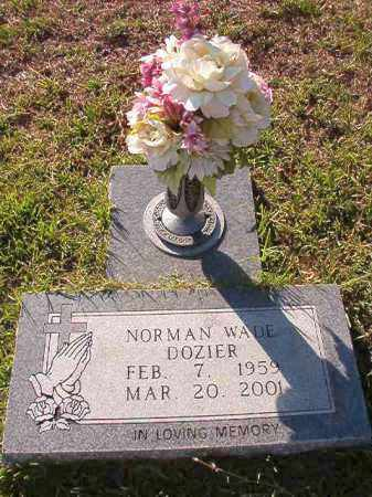 DOZIER, NORMAN WADE - Little River County, Arkansas | NORMAN WADE DOZIER - Arkansas Gravestone Photos