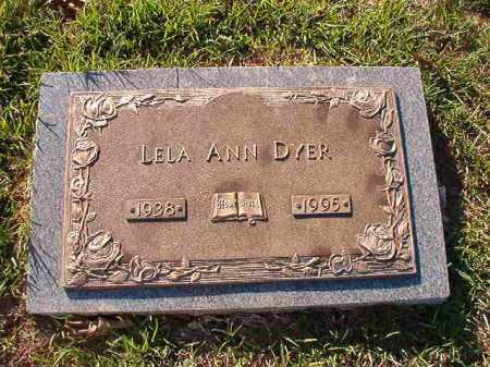 DYER, LELA ANN - Little River County, Arkansas | LELA ANN DYER - Arkansas Gravestone Photos
