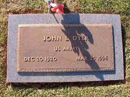 DYER (VETERAN), JOHN L - Little River County, Arkansas | JOHN L DYER (VETERAN) - Arkansas Gravestone Photos