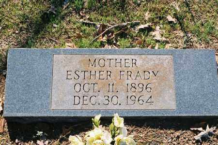 FRADY, ESTHER - Little River County, Arkansas | ESTHER FRADY - Arkansas Gravestone Photos