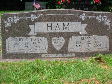 HAM, MARY E - Little River County, Arkansas | MARY E HAM - Arkansas Gravestone Photos