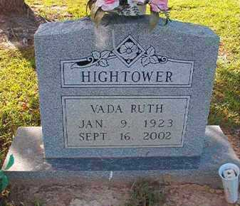 HIGHTOWER, VADA RUTH - Little River County, Arkansas | VADA RUTH HIGHTOWER - Arkansas Gravestone Photos