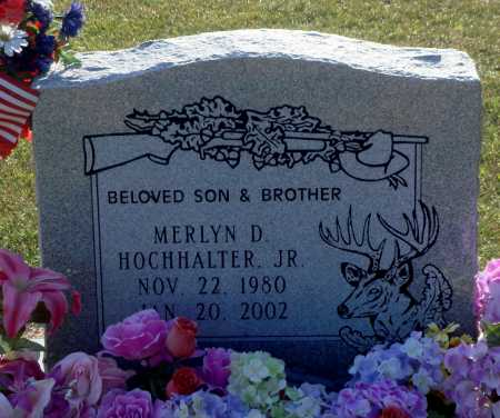 HOCHHALTER, MERLYN DEAN - Little River County, Arkansas | MERLYN DEAN HOCHHALTER - Arkansas Gravestone Photos