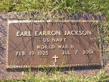JACKSON (VETERAN WWII), EARL EARRON - Little River County, Arkansas | EARL EARRON JACKSON (VETERAN WWII) - Arkansas Gravestone Photos