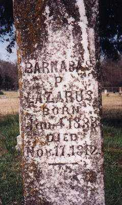 LAZARUS, BARNABUS PIPKIN - Little River County, Arkansas | BARNABUS PIPKIN LAZARUS - Arkansas Gravestone Photos