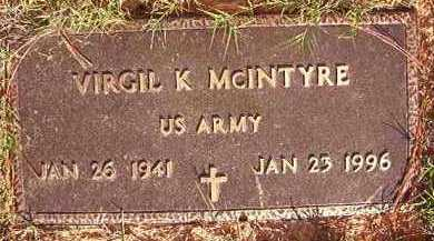MCINTYRE (VETERAN), VIRGIL K - Little River County, Arkansas | VIRGIL K MCINTYRE (VETERAN) - Arkansas Gravestone Photos