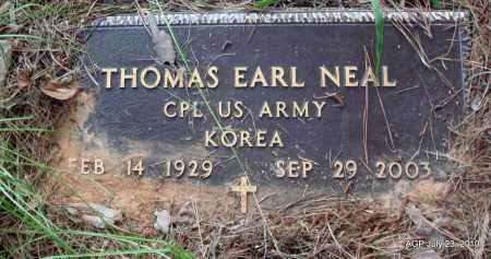 NEAL (VETERAN KOR), THOMAS EARL - Little River County, Arkansas | THOMAS EARL NEAL (VETERAN KOR) - Arkansas Gravestone Photos