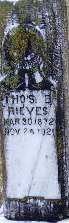 RIEVES, THOMAS BENTON - Little River County, Arkansas | THOMAS BENTON RIEVES - Arkansas Gravestone Photos