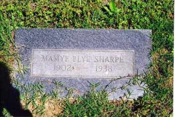 SHARP, MAMYE BLYE - Little River County, Arkansas | MAMYE BLYE SHARP - Arkansas Gravestone Photos