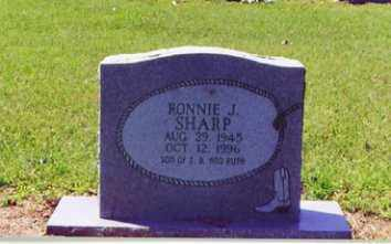 SHARP, RONNIE JOE - Little River County, Arkansas | RONNIE JOE SHARP - Arkansas Gravestone Photos